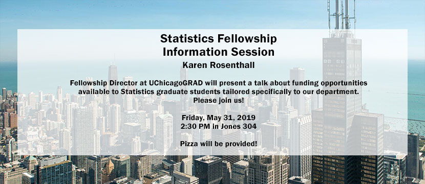 Statistics Fellowship Information Session