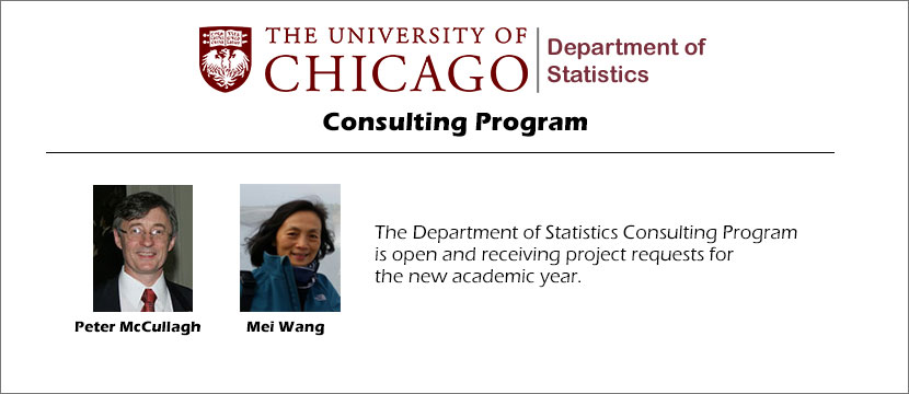 Department of Statistics Consulting Program